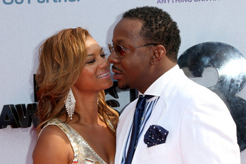 Bobby Brown Alicia Etheridge Arrivals at the BET Awards
