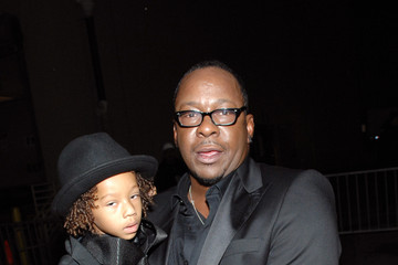 Photo of Bobby Brown & his  Son  Cassius Brown