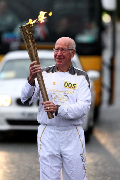 The Olympic Flame Continues Its Journey Around The UK