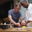 "Bobby Flay Comedian Jay Pharoah Learns New Skills With The Help Of Some Famous Friends For IMDb Series ""Special Skills"""