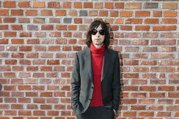 Bobby Gillespie Gucci - Arrivals - Milan Fashion Week Fall/Winter 2017/18