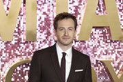Joe Mazzello attends the World Premiere of 'Bohemian Rhapsody' at The SSE Arena, Wembley on October 23, 2018 in London, England.