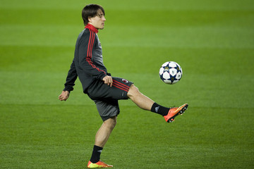 Bojan Krkic AC Milan Training & Press Conference - UEFA Champions League
