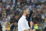 Marco Di Vaio forme player and Team Manager of Bologna FC celebrates at the end of the Serie B play-off final match between Bologna FC and Pescara Calcio at Stadio Renato Dall'Ara on June 9, 2015 in Bologna, Italy.