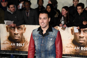 "Footballer Santi Cazorla attends the World Premiere of ""I Am Bolt"" at Odeon Leicester Square on November 28, 2016 in London, England."