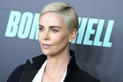 """Charlize Theron attends """"Bombshell"""" New York screening at Jazz at Lincoln Center on December 16, 2019 in New York City."""