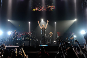 Hugh McDonald Bon Jovi Performs At The MGM Grand