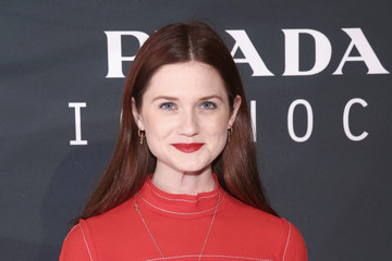 Bonnie Wright Prada The Iconoclasts, New York 2015