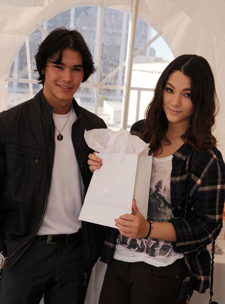 Boo Boo Stewart Booboo Stewart and Fivel Stewart attends the 2012 DPA Golden Globe Awards Gift Suite on January 12, 2012 in Beverly Hills, California.