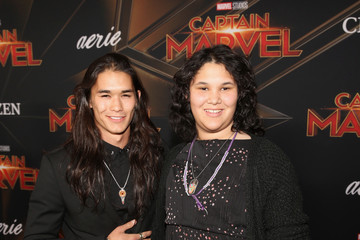 Boo Boo Stewart Los Angeles World Premiere Of Marvel Studios' 'Captain Marvel'