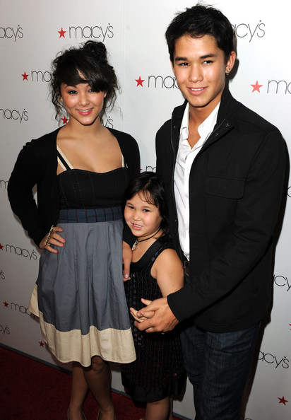 Boo Boo Stewart (L-R) Fivel Stewart, Sage Stewart, and BooBoo Stewart arrive at Glamorama presented by Macy's Passport at the Orpheum Theatre on September 16, 2010 in Los Angeles, California.