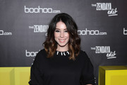 Actor Jillian Rose Reed attends the launch of the boohoo.com spring collection and the Zendaya Edit at The Highlight Room at the Dream Hollywood on March 21, 2018 in Hollywood, California.