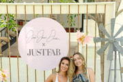 Jessie James Decker and Brandi Cyrus attend Boots & Brunch by Jessie James Decker and JustFab at Avalon Hotel Palm Springs on April 26, 2019 in Palm Springs, California.