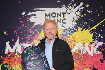 Boris Becker Montblanc Partners For Laureus Awards 2019 - Day Two : Photocall