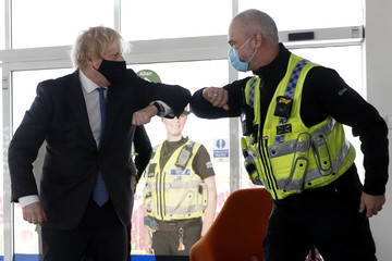 Boris Johnson European Best Pictures Of The Day - February 17