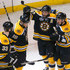 Brad Marchand Tyler Seguin Photos - Zdeno Chara #33, Tyler Seguin #19, Patrice Bergeron #37 and Brad Marchand #63 of the Boston Bruins celebrate after a goal against the Chicago Blackhawks in Game Four of the 2013 NHL Stanley Cup Final at TD Garden on June 19, 2013 in Boston, Massachusetts. - Boston Bruins v Chicago Blackhawks: Game 4
