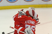 Niklas Kronwall and Jimmy Howard Photos Photo