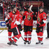 Mike Hoffman Erik Karlsson Photos - Clarke MacArthur #16 of the Ottawa Senators celebrates his second period power-play goal against against the Boston Bruins with team mates Derick Brassard #19, Erik Karlsson #65 and Mike Hoffman #68 in Game Two of the Eastern Conference First Round during the 2017 NHL Stanley Cup Playoffs at Canadian Tire Centre on April 15, 2017 in Ottawa, Ontario, Canada.  (Photo by Jana Chytilova/Freestyle Photography/Getty Images) <i></i>* Local Caption <i></i>* - Boston Bruins v Ottawa Senators - Game Two