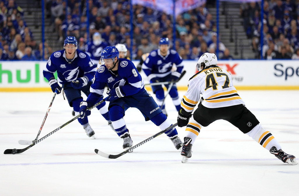 Tyler Johnson Torey Krug Tyler Johnson And Torey Krug Photos Zimbio