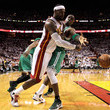 LeBron James Mickael Pietrus Photos