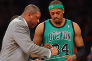 Paul Pierce and Doc Rivers Photos Photo