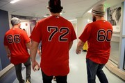 The Boston Red Sox Bring Joy And Laughter With Their Annual Holiday Caravan To Boston Children's Hospital