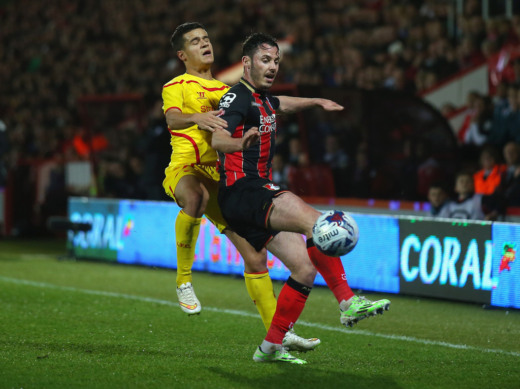 Bournemouth V Liverpool: Philippe Coutinho In Bournemouth V Liverpool