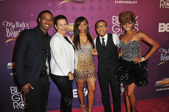 BET's Black Girls Rock 2012 - CHEVY Red Carpet