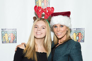(L-R)  Catherine Rose Young and Cheryl Hines attend Bowling For Buddies at PINZ Bowling & Entertainment Center on December 10, 2017 in Studio City, California.