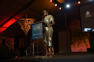 Bozoma Saint John Russell Simmons' Rush Philanthropic Arts Foundation Hosts Midnight at the Oasis Annual Art for Life Benefit - Inside