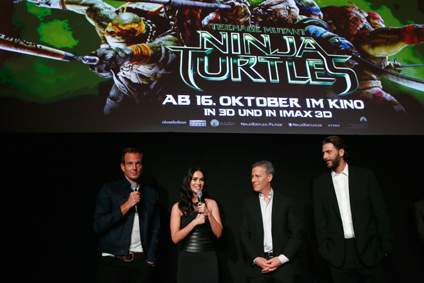 'Teenage Mutant Ninja Turtles' Screening [teenage mutant ninja turtles,fictional character,performance,games,movie,will arnett,brad fuller,megan fox,berlin,germany,andrew form,paramount pictures,ufo sound studios,underground event screening]