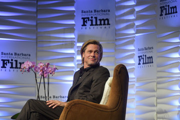 Brad Pitt 35th Santa Barbara International Film Festival -  Maltin Modern Master Award - Brad Pitt