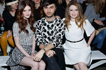 Brad Walsh Christian Siriano - Front Row - Mercedes-Benz Fashion Week Fall 2014