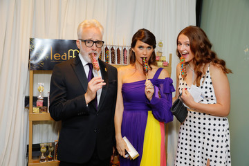 Bradley Whitford Amy Landecker Backstage Creations Giving Suite At The Emmy Awards - Day 2