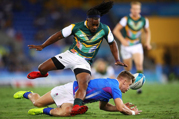 Branco Du Preez Rugby Sevens - Commonwealth Games Day 10
