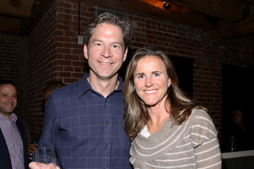Brandi Chastain Fanatics Super Bowl Party - Inside