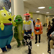 Brandon Carlo Boston Bruins Bring Toy Story 4 To Life At Boston Children's Hospital for Annual Halloween Visit