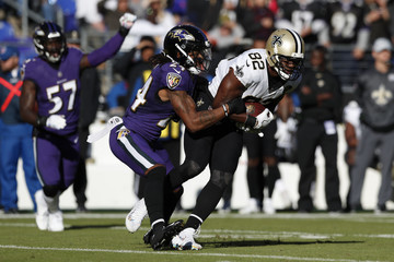 Brandon Carr New Orleans Saints vs. Baltimore Ravens
