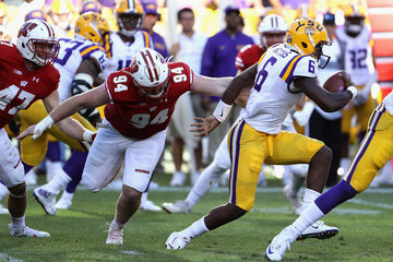 Brandon Harris LSU v Wisconsin