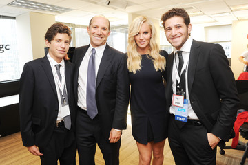 Brandon Lutnick Celebs at NYC's Annual Charity Day Event