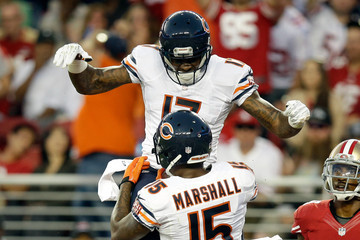cheap for discount 21a08 b2823 Brandon Marshall Alshon Jeffery Pictures, Photos & Images ...