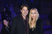 Rodger Berman and Rachel Zoe attend the Brandon Maxwell front row during New York Fashion Week: The Shows at Appel Room on February 11, 2018 in New York City.