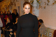 Ashley Graham attends the Brandon Maxwell front row during New York Fashion Week: The Shows at Penn Plaza Pavilion on February 9, 2019 in New York City.