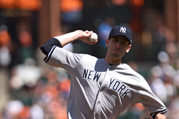 Brandon McCarthy New York Yankees v Baltimore Orioles - Game One