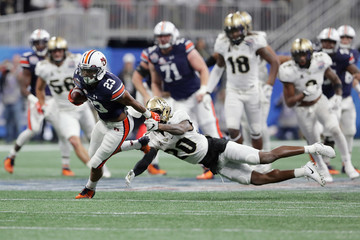 Brandon Moore Chick-fil-A Peach Bowl - Auburn v Central Florida