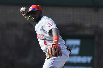 Brandon Phillips Cincinnati Reds v Chicago Cubs