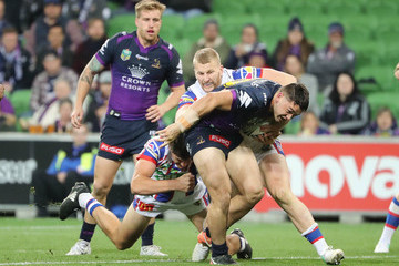 Brandon Smith NRL Rd 13 - Storm v Knights