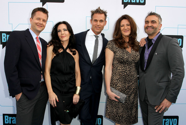 (L-R) Nathan Turner, Mary McDonald, Jeffrey Alan Marks, Kathryn Ireland and Martyn Lawrence Bullard attend Bravo Media's 2011 Upfront Presentation  on March 30, 2011 in Los Angeles, California.