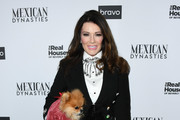 """Lisa Vanderpump attends Bravo's Premiere Party For """"The Real Housewives Of Beverly Hills"""" Season 9 And """"Mexican Dynasties""""at Gracias Madre on February 12, 2019 in West Hollywood, California."""