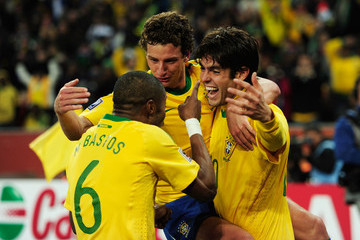 Elano Michel Bastos Brazil v Ivory Coast: Group G - 2010 FIFA World Cup